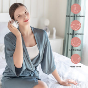 2. multifunctional facial massager