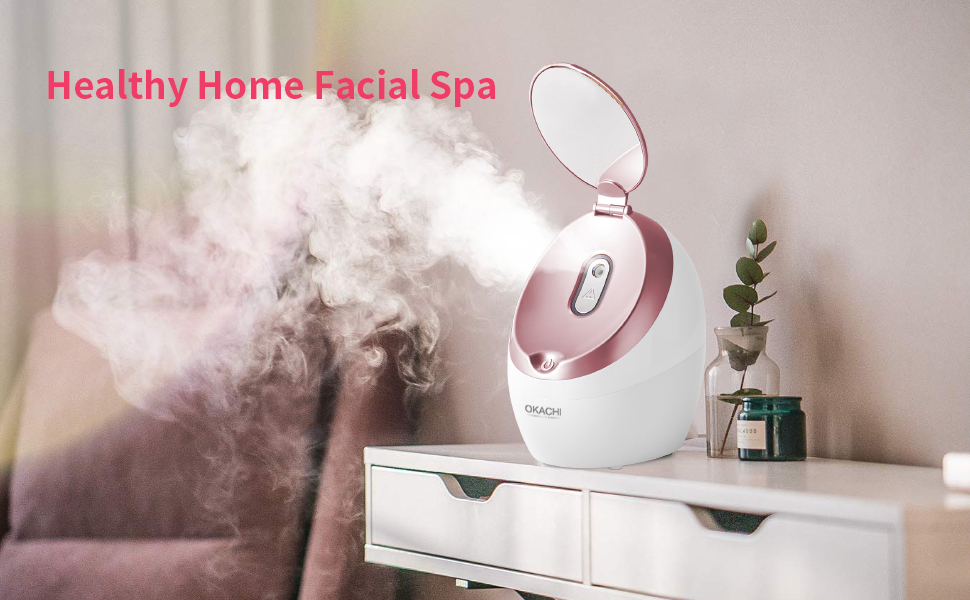 Facial Steamer with mirror