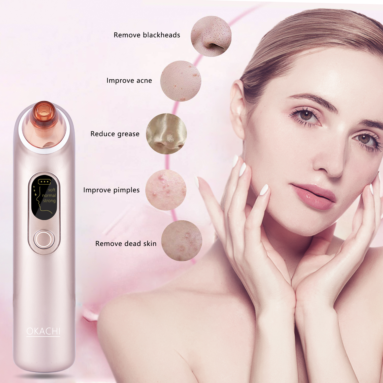 Electric Acne Comedone Extractor
