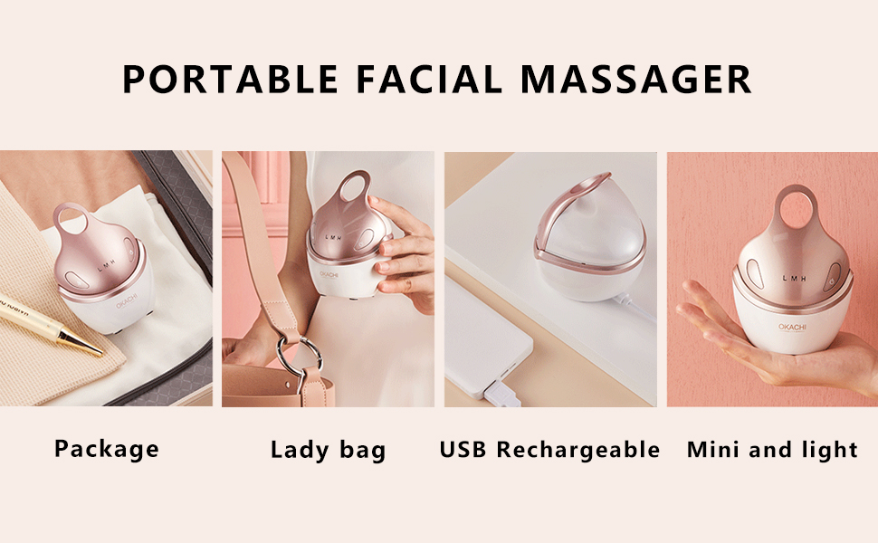5. mini portable facial massager